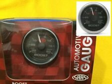 "52mm Turbo boost/vac gauge 20 PSi Multi colour display SAAS 2"" black face"