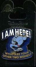 I Am Here Genie What are your other Two Wishes Aladdin 3D Disney Pin 101186