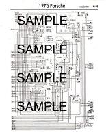 1977 jaguar xj6 xj12 xjc 77 wiring diagram guide chart 77bk