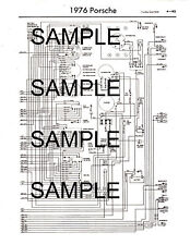 1980 SAAB 99 & 900 80 WIRING DIAGRAM GUIDE CHART 80BK