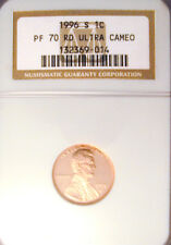 1996-S CENT NGC PROOF PF-70 Ultra Cam