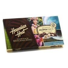 HAWAIIAN HOST ALOHAMACS MILK CHOCOLATE MACADAMIA NUTS 7 OZ