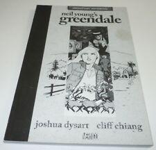 Neil Young's Greendale Comic TPB DC Vertigo ADVANCE COPY Joshua Dysart 1st Print
