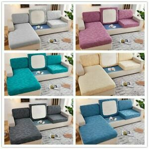 Thick Couch Cover Jacquard Elastic Stretch Corner Sofa Covers For Living room