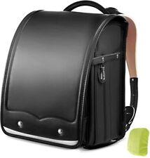 NEW Overmont Randoseru Backpack School Bag Black Lightweight from Japan