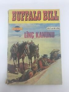 BUFFALO BILL #11 #12 - 1980s 80s - Foreign Comic Book - VERY RARE - 6.0 FN