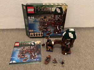 LEGO Der Herr der Ringe Hobbit 79016 Angriff auf Seestadt komplett mit BA & OVP