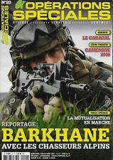 OPERATIONS SPECIALES N° 20 / BARKHANE AVEC LES CHASSEURS ALPINS - LE CARACAL