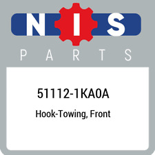 51112-1KA0A Nissan Hook-towing, front 511121KA0A, New Genuine OEM Part