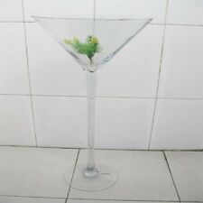 1X Clear Large Cocktail Glass Vase Wedding Favor 60cm high