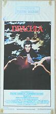 LOCANDINA, DRACULA 1979, JOHN BADHAM, LANGELLA, BRAM STOKER HORROR MOVIE POSTER