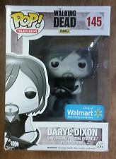 Funko POP! Television AMC The Walking Dead Daryl Dixon 145 Walmart Black & White