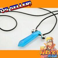 Naruto Shippuden Blue Lady Tsunade Hokage Crystal Necklace  Cosplay Anime Manga