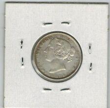 1899 NEWFOUNDLAND 20 CENT LARGE 99 VF