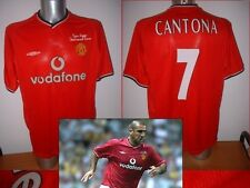 Manchester United Cantona Giggs Testmonial Jersey Shirt M Soccer Umbro Football