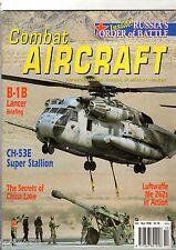 Combat Aircraft 1.10 B-1B Lancer,Russia,USMC CH-53E,F-51 Mustang,Me262,Sea King