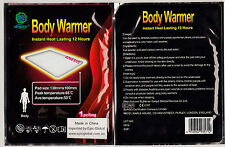 30 x Stick On Instant Heat Packs/Pads-NO heating req!
