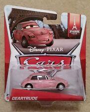 Disney Pixar Cars 2 • Geartrude • 2014 Paris Tour Cardback 5