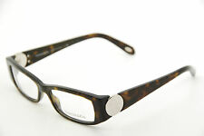 New Authentic Tiffany & Co TF2010 8015 Havana 51mm Eyeglasses Italy RX w/Case