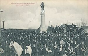 GRAFTON ND - Unveiling Soldiers Monument Unvailing - 1909