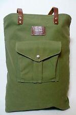 Vtg BILLYKIRK Large Battenkill Canvas Shopping Hunting Ammo Huge Tote Bag Pack