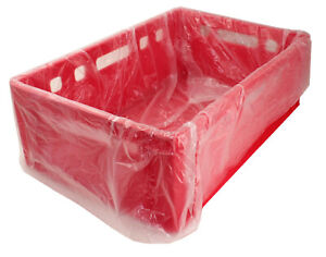Fleischkistenbeutel Eurofleischkisten Einlegesäcke für E2 Kisten 65+45x65cm HDPE