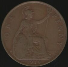 More details for 1919 kn george v one penny coin   british coins   pennies2pounds