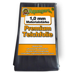 Teichfolie PVC 1 mm Folie  Gartenteich Teichbau Teich Ufermatte Koi Epdm Vlies