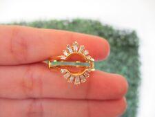 .56 CTW Diamond Ring 14K Yellow Gold R136 sep
