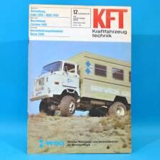DDR KfT Kraftfahrzeugtechnik 12/1981 Lada 1300 Zastava 1100 Suzuki Alto Fiat 81
