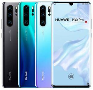 "Huawei P30 Pro 128GB 8GB RAM VOG-L09 Single Sim (FACTORY UNLOCKED) 6.47"" 40MP"