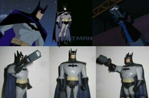 JLU BATMAN WITH GRAPPLING GUN CUSTOM FIGURE JUSTICE LEAGUE UNLIMITED BTAS STAS