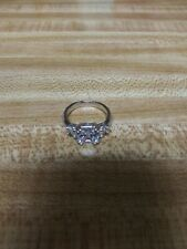 Ring Size 8.Boxed And Wrap. Meghan Markle 3.67Ctw Cushion Cut Cz