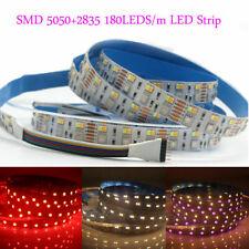RGB CCT LED Strip light 5050 2835 SMD RGB+ White + Warm White Flexible 24V 12V