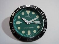 NEW SEIKO REPLACEMENT GREEN DIAL/HANDS/INSERT FOR SEIKO 7S26-0020 DIVER'S WATCH
