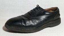 Rockport DresSport Oxford Dress Shoe Men 10 M Vibram Sole Black Leather Wing Tip