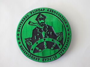 Pog vintage Dégommeur slammer FLIP CAP capitaine vert KINI