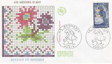 FRANCE 1980 FDC LA BRODERIE YT 2079