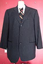 hugo boss  SUIT JACKET BLAZER, 42 R ,stripes  ,black oj