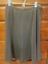 JONES NEW YORK, Tan Tweed, A-Line Skirt, Size 4, Lined, Knee Length