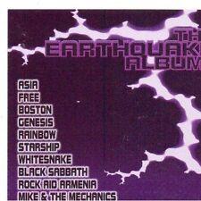 Earthquake album-rock Aid Armenia (1990) Iron Maiden, Black Sabbath, Foreigner,