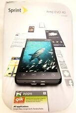HTC EVO 4G - 1GB - Black (Sprint) Smartphone USA SELLER