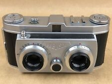Belca Belplasca Vintage Stereo Camera w/ 37.5mm Carl Zeiss Tessar T- Very Clean