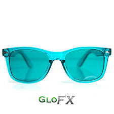 GloFX Aqua Color Therapy Glasses Tinted Lenses Sunglasses with UV400 Protection