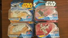 New Star Wars Millennium Falcon Die Cast Hot Wheels Set Star Wars X Wing Fighter
