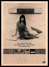 1965 Wollensak 5300 Stereo Reel To Reel Tape Recorder Wife MCM Vintage Print Ad