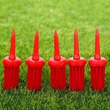 50Pcs 62mm Golf Brush Tees Plastic Bristles New Golf Clubs Training Accessories