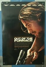 OUT OF THE FURNACE. 1 Sheet 2 sided theatre movie poster, CHRISTIAN BALE
