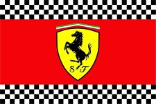 The Ferrari flag (for fans of formula 1) - 90x135 cm