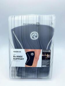 Rehband Rx Knee Support Jr. - Black - Large - 1 Sleeve